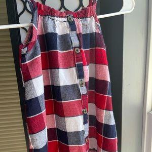 Girls 4T Old Navy Summer Dress Plaid